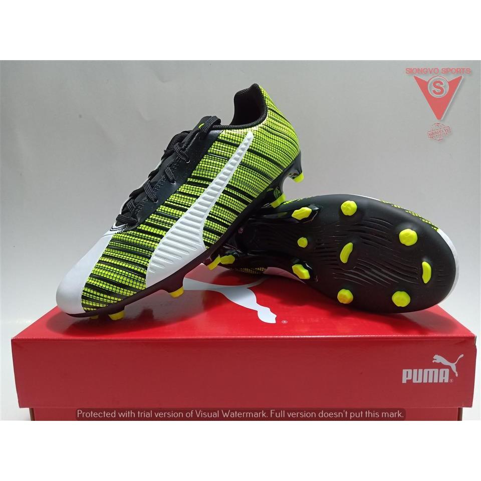 Sepatu Bola Puma One 5 4 Fg Ag Original 10560503 Rush Pack New