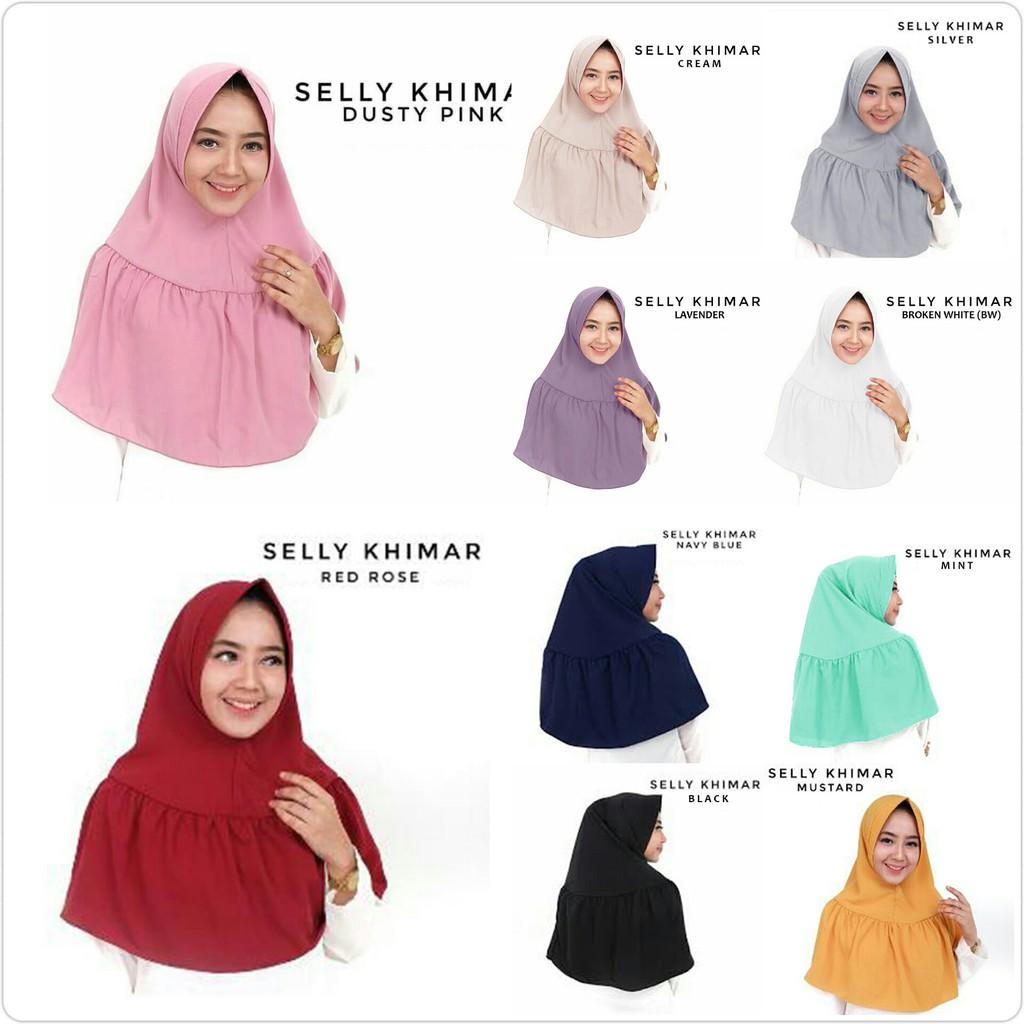 Hijab Jilbab Khimar Syari Farida Shopee Indonesia Syar I