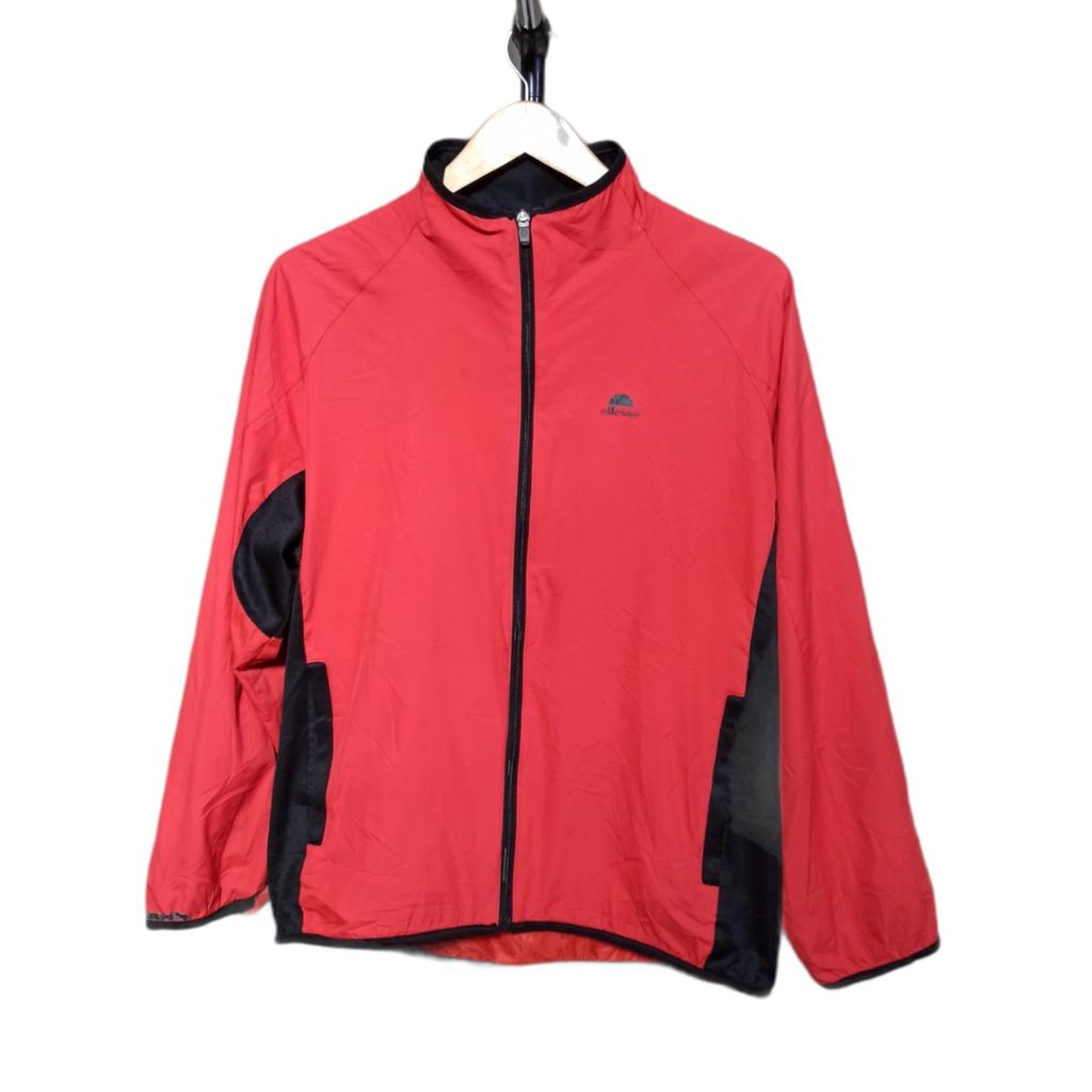 Ellesse Windbreaker Jacket Red