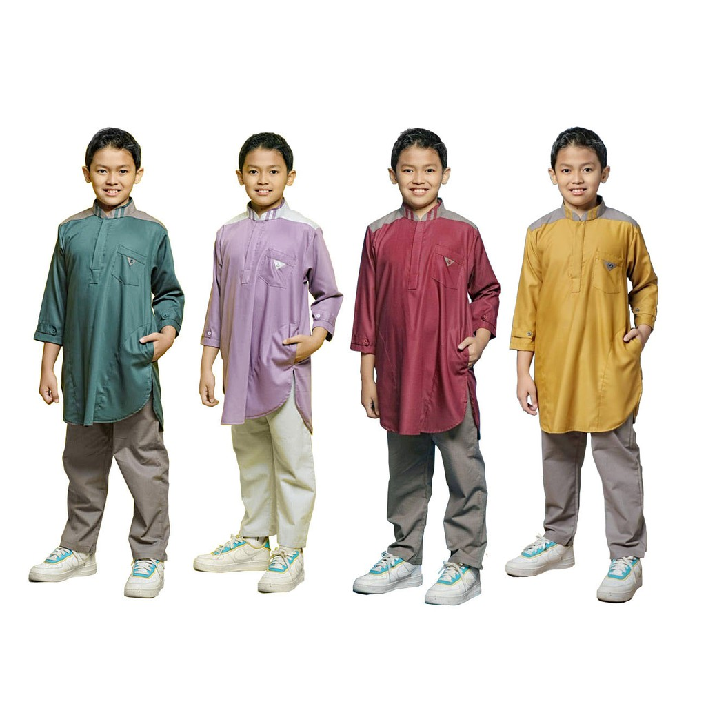 Koko Kurta Anak Luxury Series #2 by Qoulan Sadida