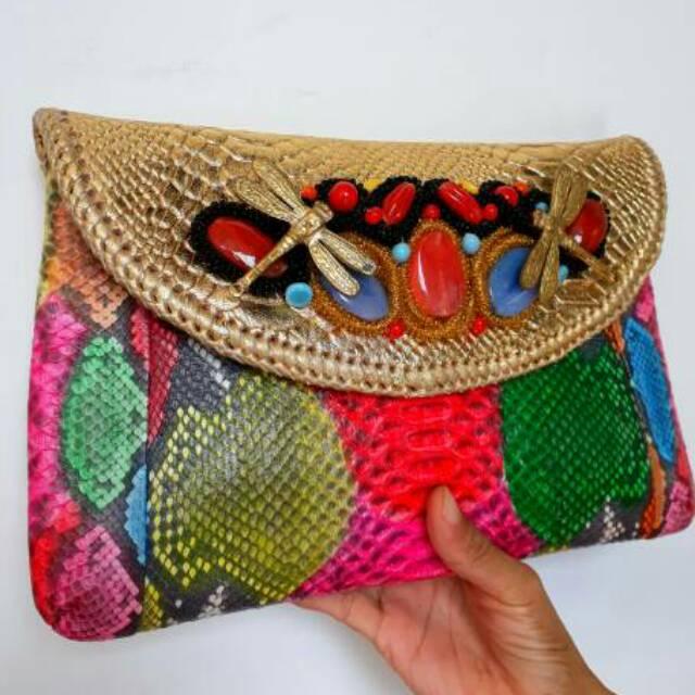 tas ular - Temukan Harga dan Penawaran Clutch Online Terbaik - Tas Wanita  Maret 2019  33fb67e6fd