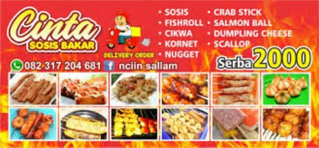 spanduk kedai spanduk sosis bakar spanduk warung makan shopee indonesia spanduk kedai spanduk sosis bakar spanduk warung makan