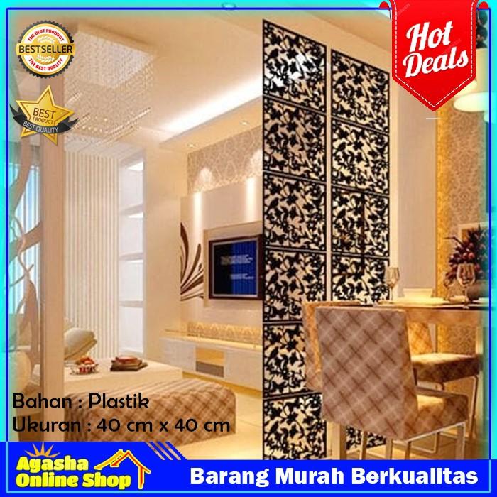 Penyekat Ruangan Partisi Ruangan Dekorasi Rumah Perlengkapan Rumah Pembatas Ruangan Minimalis Shopee Indonesia