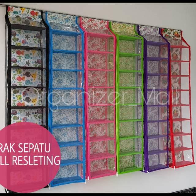(2KG) SHENAR RAK SEPATU ADA RESLETING BUKA ATAS BISA BONGKAR PASANG   Shopee Indonesia