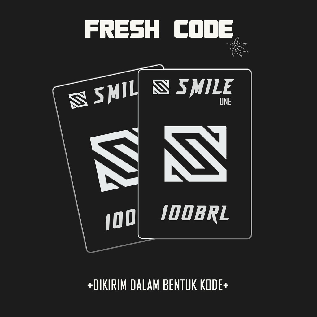 SMILE ONE CODE [100brl/1000coins]