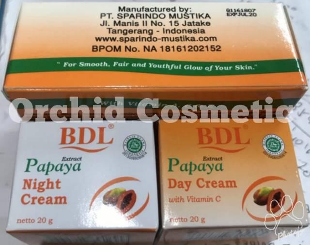 Bdl Papaya Day Night Sabun Lokal Bpom Shopee Indonesia