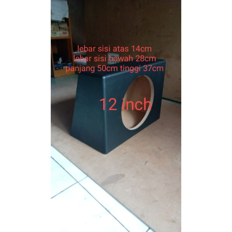 BOX SUBWOOFER MOBIL 12 INCH