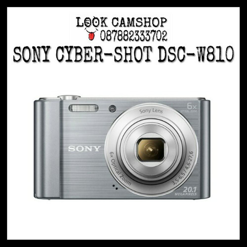 Sony Cyber Shot Dsc W810 Black Trendy Shopee Indonesia