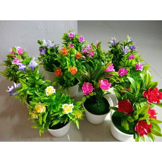 Bunga Hias Tanaman Hias Tanaman Artificial Vas Bunga Pot Bunga Tanaman Plastik Shopee Indonesia