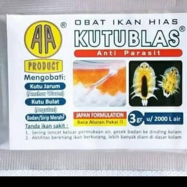 Kutublas Obat Kutu Ikan Koi Shopee Indonesia