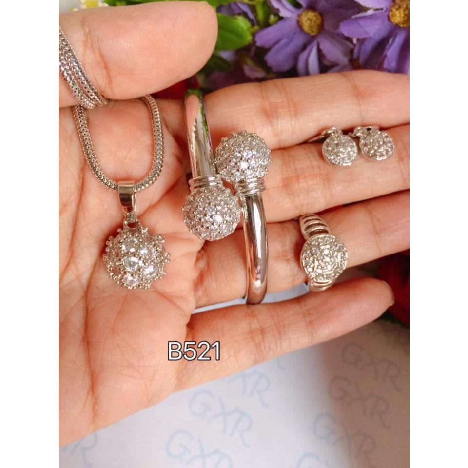 Set Perhiasan Xuping Shopee Indonesia 1 Titanium