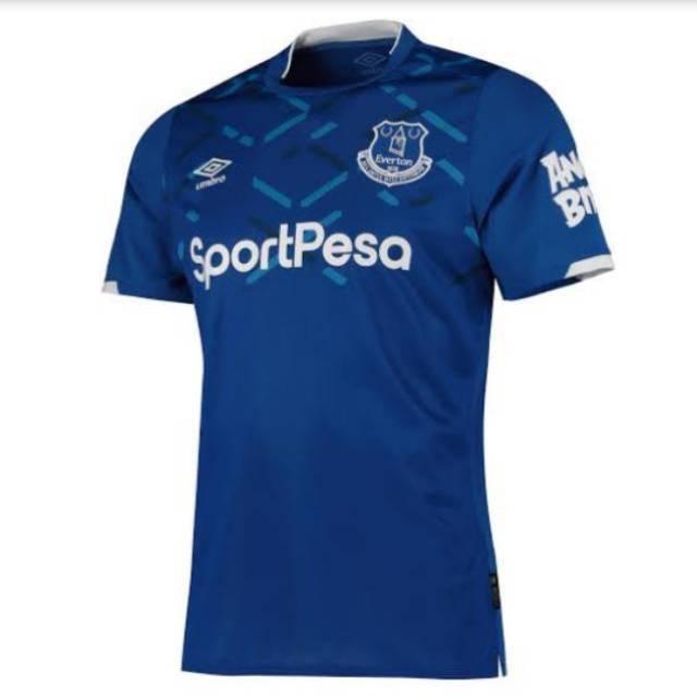 Everton Home 2019 2020 Jersey Import Grade Ori Shopee Indonesia