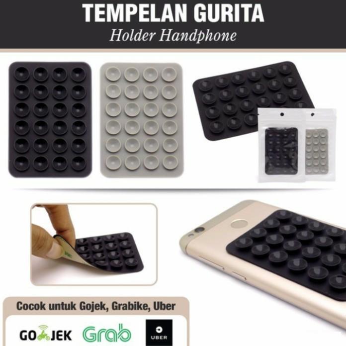 HB Tempelan Belakang HP Stand Holder Gurita Universal 24 Tentakel Perekat Handphone. Source · stiker