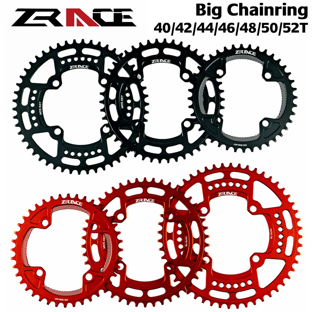 Bicycle MTB Circle Single Chainring BCD104mm Big Ring 32T 36T 38T 40T 52T