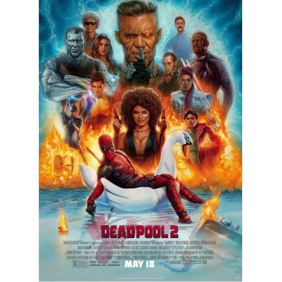 Kotak Dvd Film Deadpool 2 2018 2018 Shopee Indonesia