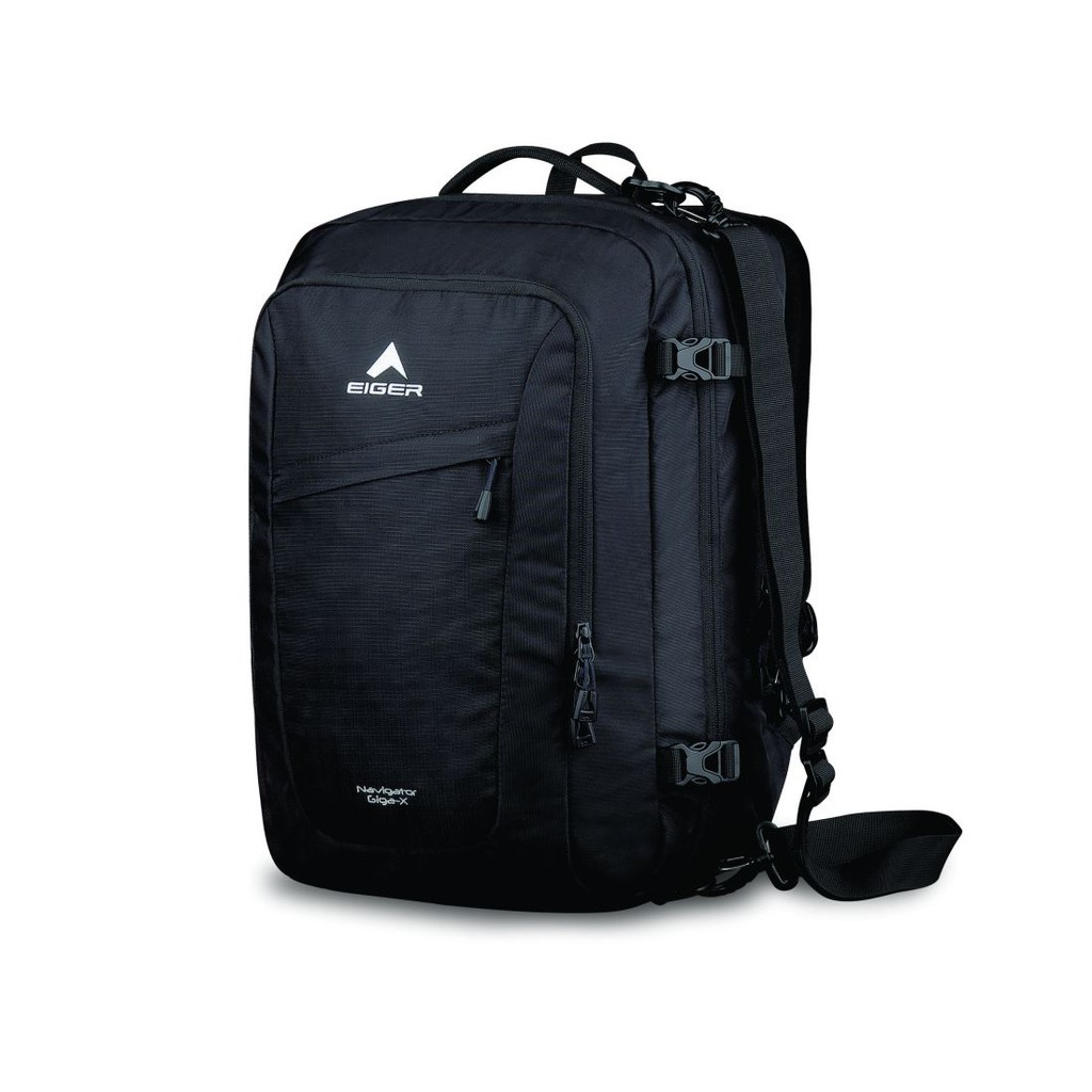 6351e3b2a90 Eiger Tas Laptop Trilogic Pria Navigator - Hitam   Shopee Indonesia