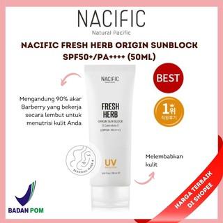 [BPOM] NACIFIC Fresh Herb Origin SunBlock SPF50+ PA++++ (50ml) thumbnail