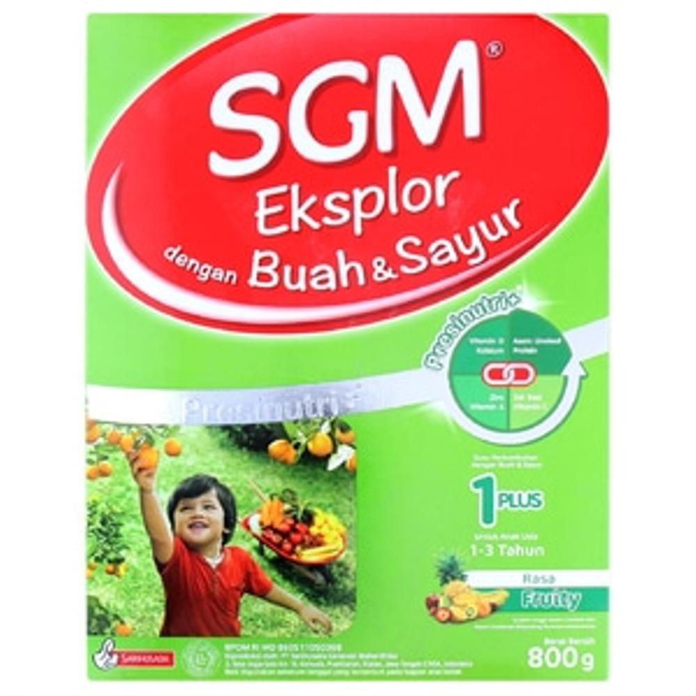 Promo Sgm Eksplor 1 Buah Dan Sayur 800gr Fruity Shopee Indonesia Ananda Ph Pro 3 Tahun 400gr