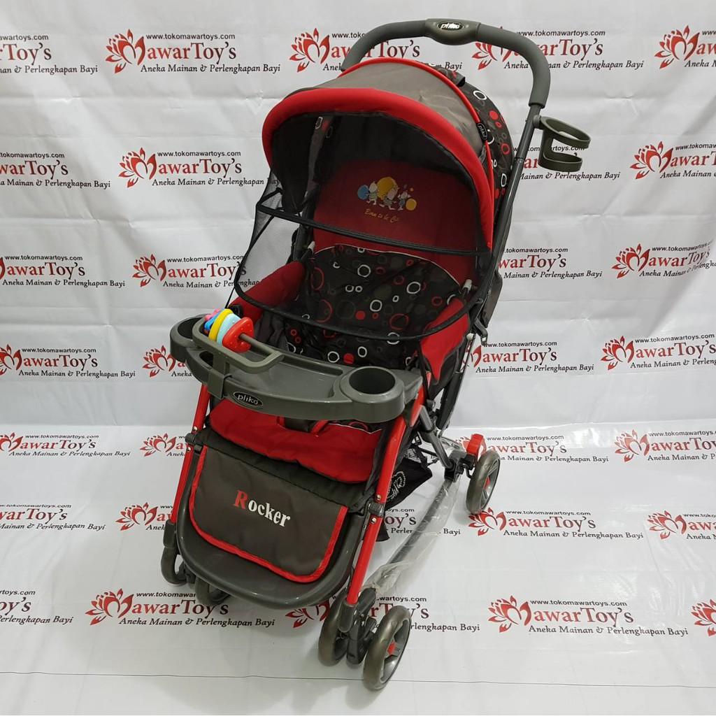 Stroller Pliko Rodeo 398 Original Shopee Indonesia Khusus Gojek Stroler Kereta Dorong Bayi Boston Bekasi