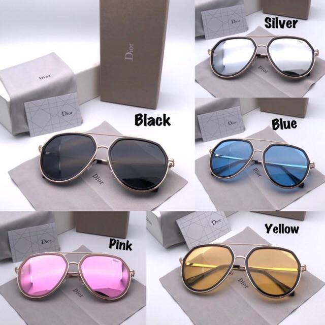 Dior Abstract Silver Kacamata Sunglass Wanita Pria Fashion Murah Kualitas  SUPER  7a5e8223ae