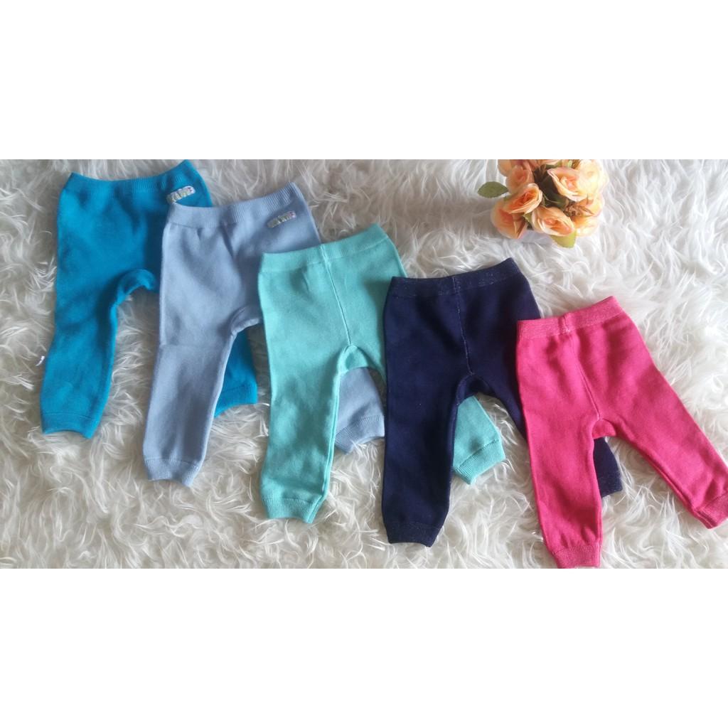 Legging Polos Bayi Newborn Celana Legging Bayi Unisex Legging Anak Rajut Shopee Indonesia