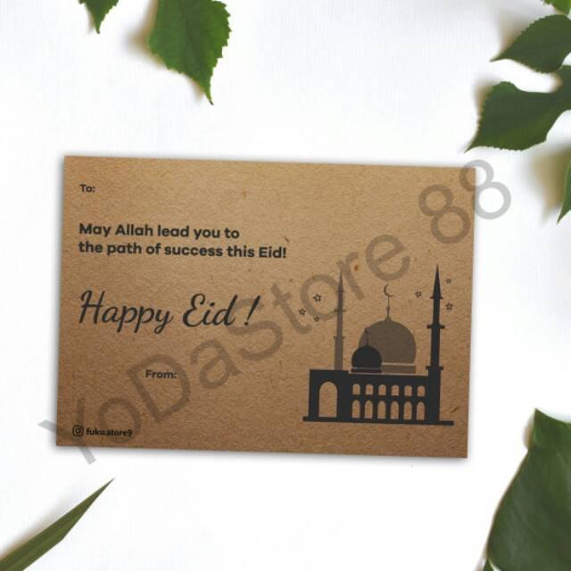 1 Set 16 Kartu Kartu Ucapan Lebaran Kartu Lebaran Kartu Ucapan Idul Fitri Eid Mubarak Shopee Indonesia