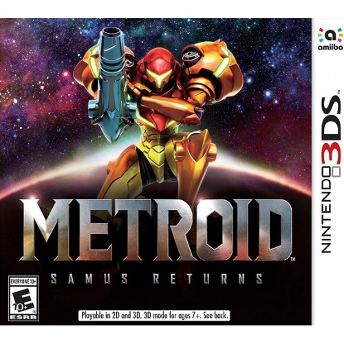 Game Nintendo 3DS Metroid