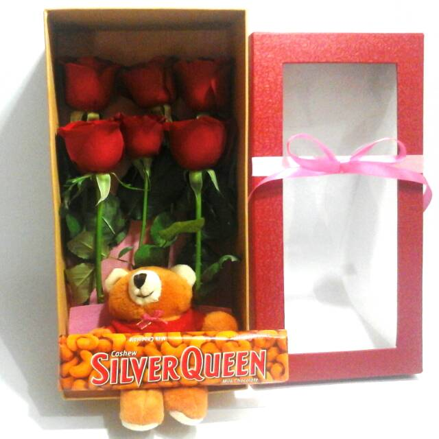 400 Gambar Coklat Silverqueen Dan Bunga