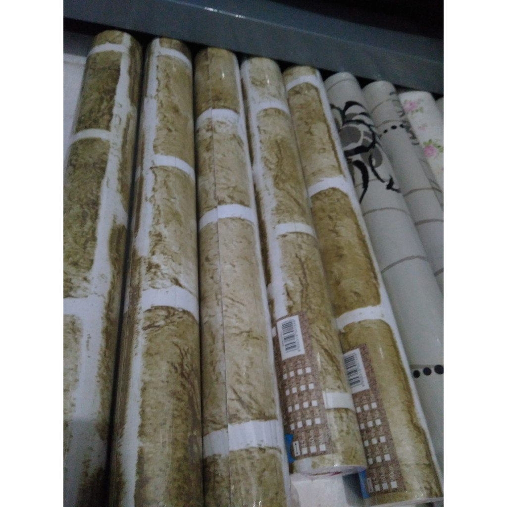 Up To 56 Discount Palugada Online Store Switzbaby Sale Wallpaper Sticker Motif Batu Bata Alam Cokla