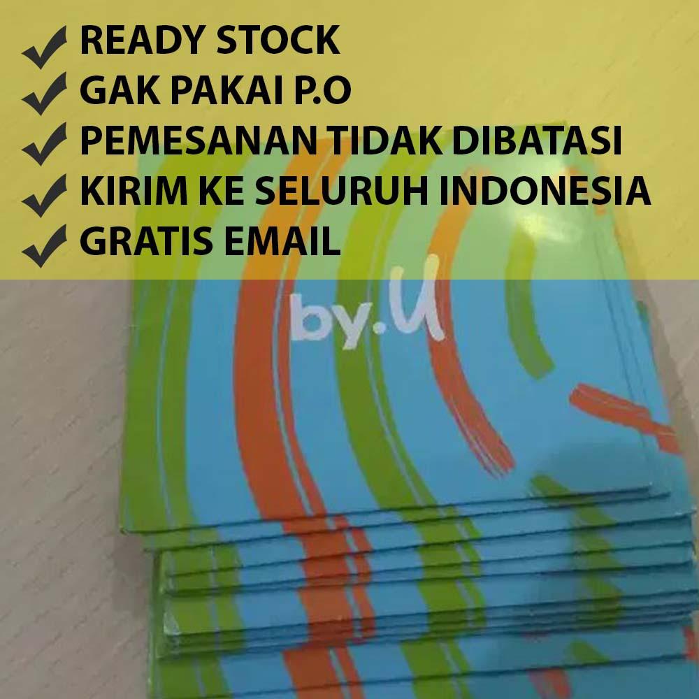 Kartu Perdana by.U - byU Telkomsel Kuota Murah Harga