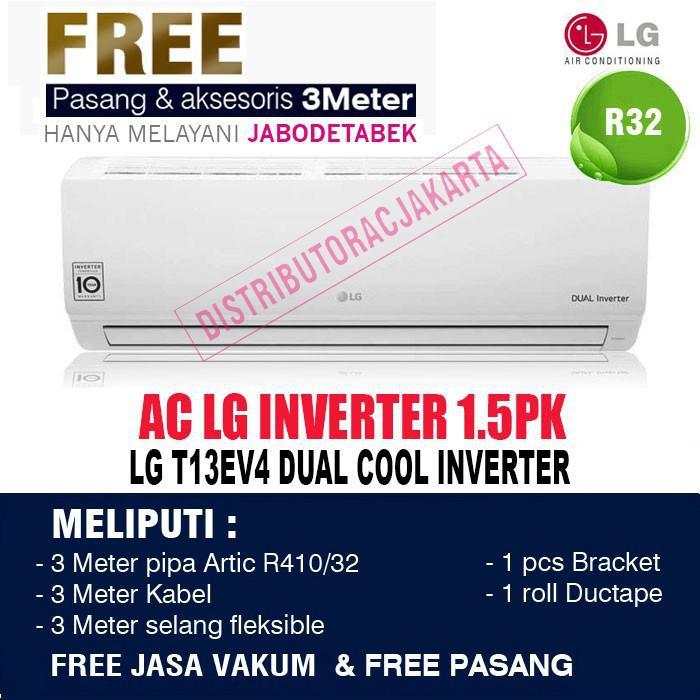 Inv | Ac Lg 1/2 Pk 1/2Pk Inverter ( Double Eco Inverter ) T06Ev4 - 1.5Pk Ev13Ev4