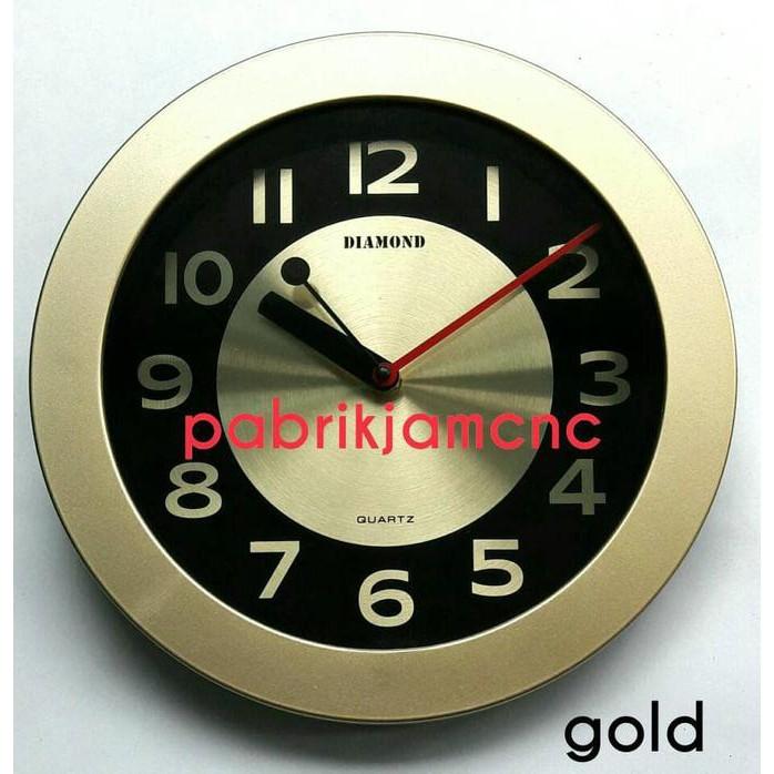Diamond Jam Dinding 2520 5 Silver - tempat jual Produk Popular Di ... c16e674c42