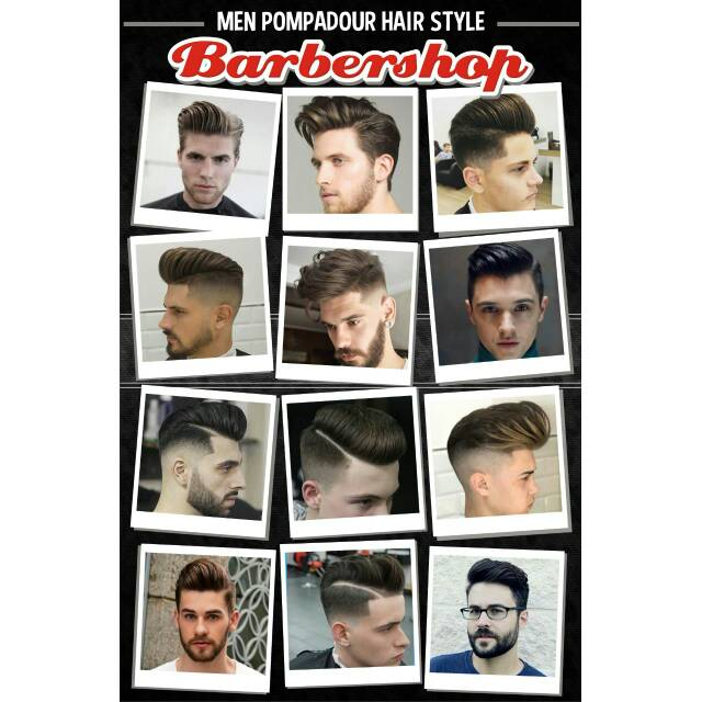 Poster Model Rambut Barbershop Shopee Indonesia