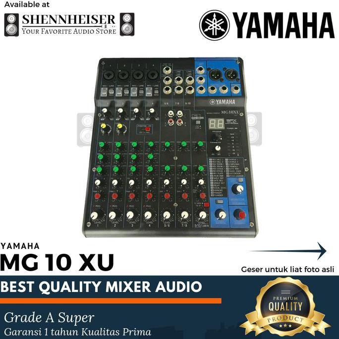 Mixer Yamaha MG 10 XU Mixer Audio