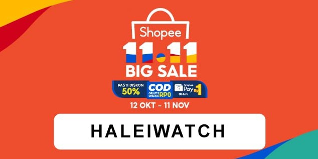 Toko Online Halei Watch Official Shop | Shopee Indonesia