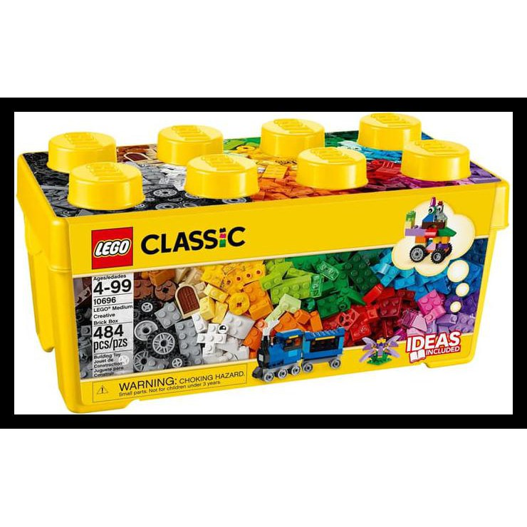 ec5809da1b7d LEGO CLASSIC 10696 MEDIUM CREATIVE BRICK BOX New   Shopee Indonesia
