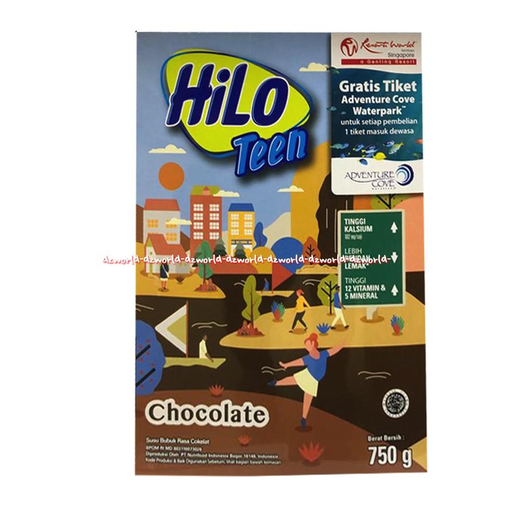 Hilo Teen Chocolate Susu Hailo Untuk Remaja Coklat 750gr Shopee Indonesia