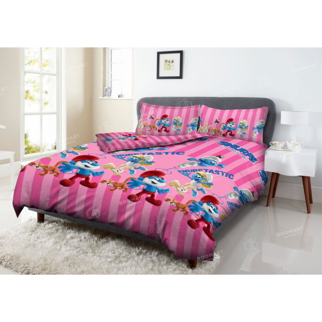 Sprei Deluxe Kintakun Merci Paris Ukuran 120x200 Shopee Indonesia Dluxe Single Azaki