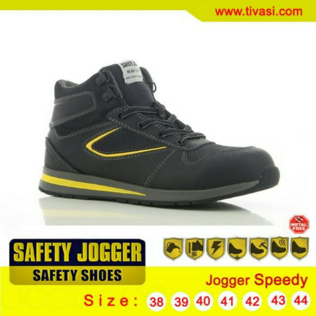 Promo Sepatu Safety Jogger Desert S1P Black Diskon Murah  b524126645