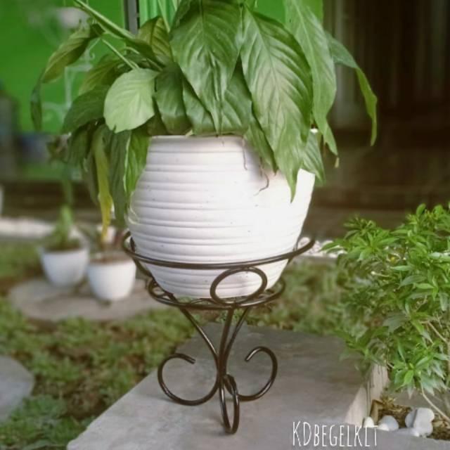 Standing Pot Bunga Tunggal Shopee Indonesia