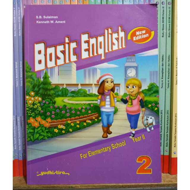 Bahasa Inggris Basic English Sd Kelas 2 Yudhistira New Edition Shopee Indonesia