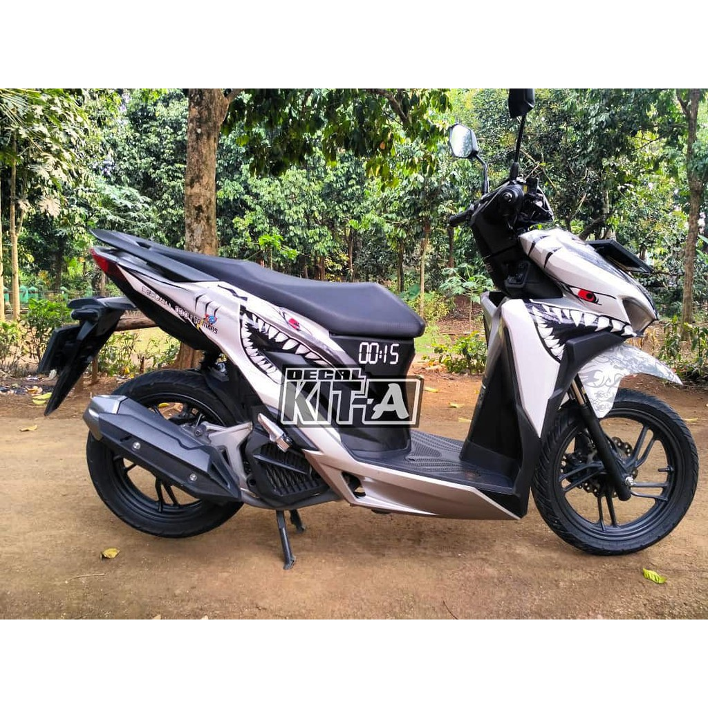 Decal new vario 150 facelite 2018 sticker striping stiker vario 2018 shopee indonesia