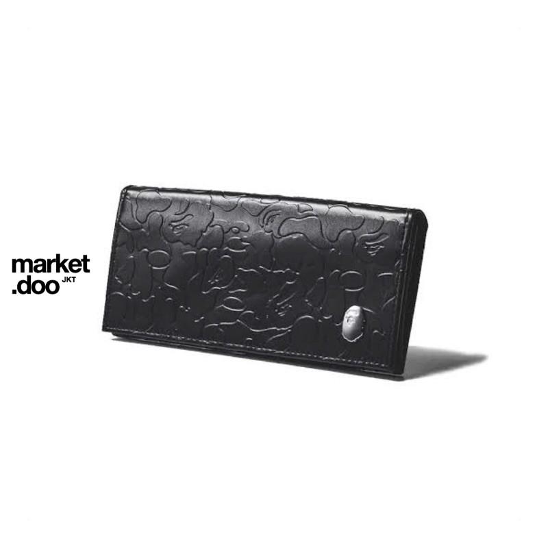 Bape Long Wallet Leather Original Japan Appendix