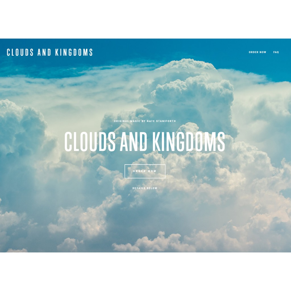 Ebook Sulap Langka Dashyat: Nate Staniforth - Clouds & Kingdoms ...