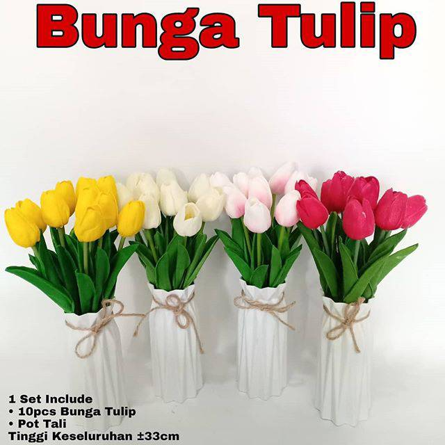 bunga tulip - Temukan Harga dan Penawaran Dekorasi Online Terbaik -  Perlengkapan Rumah Februari 2019  43cb344490