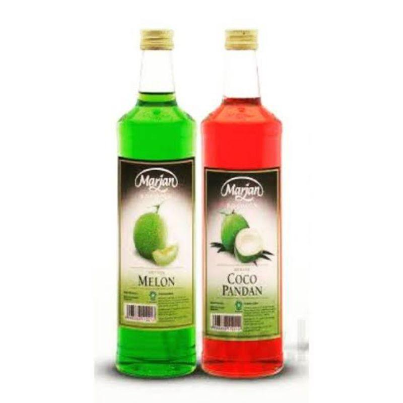 Sirup Marjan Melon, Coco Pandan 460ml 1 dus isi 12 Botol
