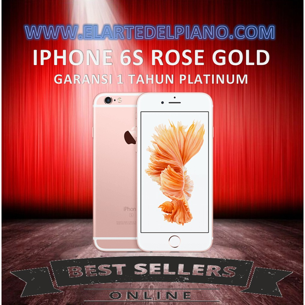 Iphone 6 16gb Gold Garansi Distributor 1 Tahun Shopee Indonesia