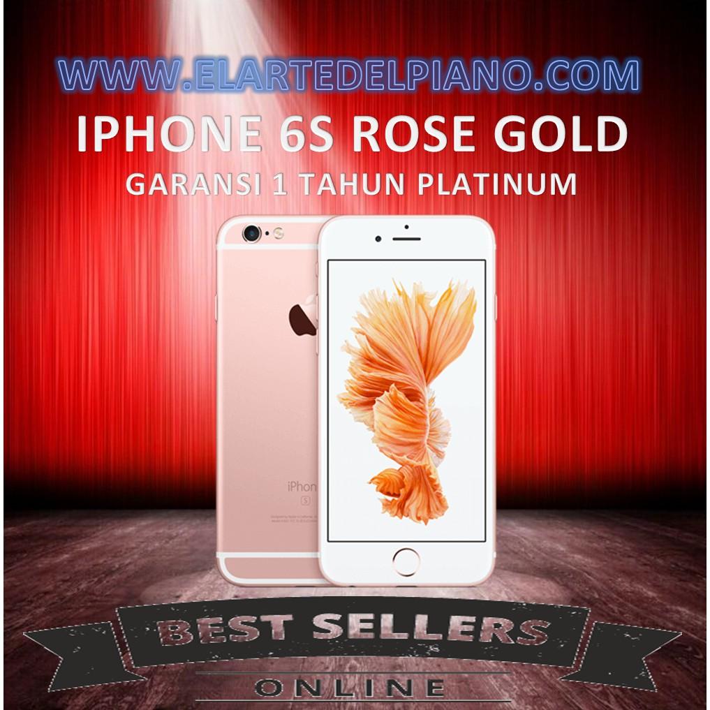Apple iPhone 6S 64GB Rose Gold - Garansi Distributor 1 Tahun ... 164d4b3310