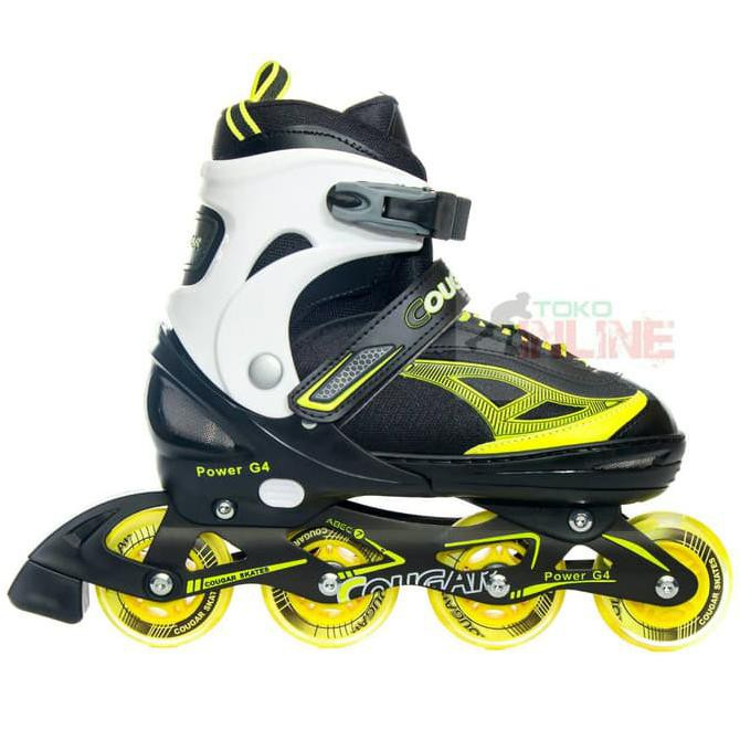 Sepatu Roda COUGAR Power G4 Pink Black Recreational Inline Skate ... 32f352affa