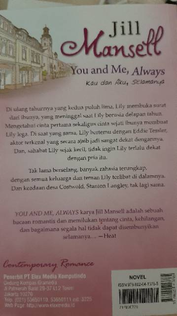 Buku You And Me Always Preloved Shopee Indonesia